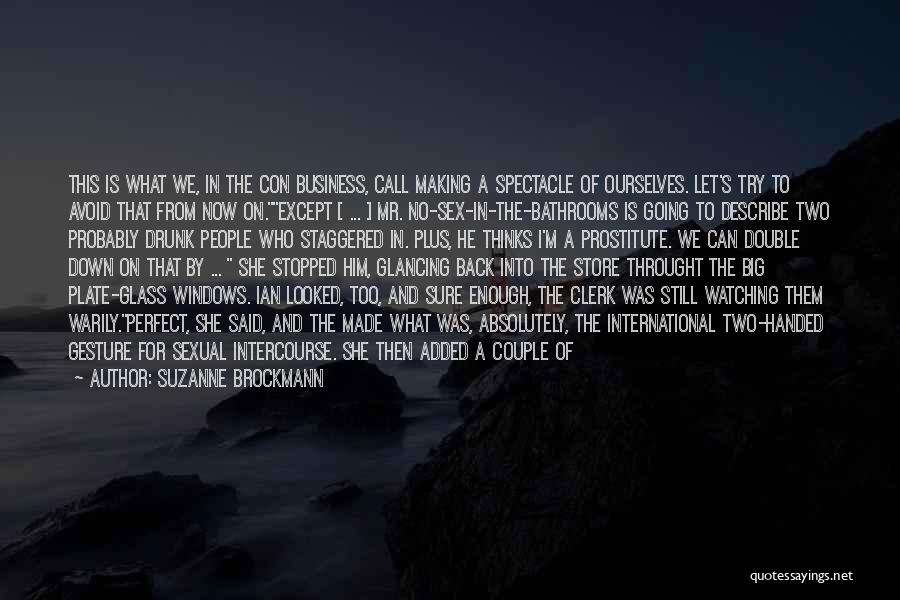 Clerk Quotes By Suzanne Brockmann
