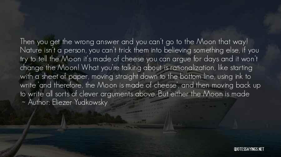 Clever Person Quotes By Eliezer Yudkowsky