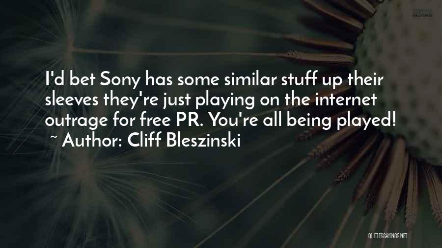 Cliff Bleszinski Quotes 676279