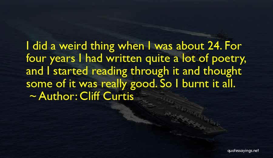 Cliff Curtis Quotes 2059594