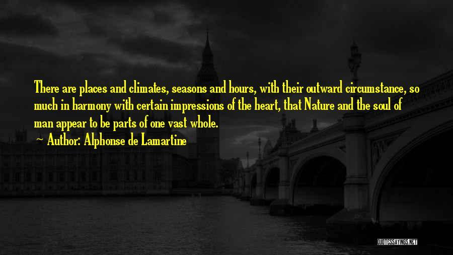Climates Quotes By Alphonse De Lamartine
