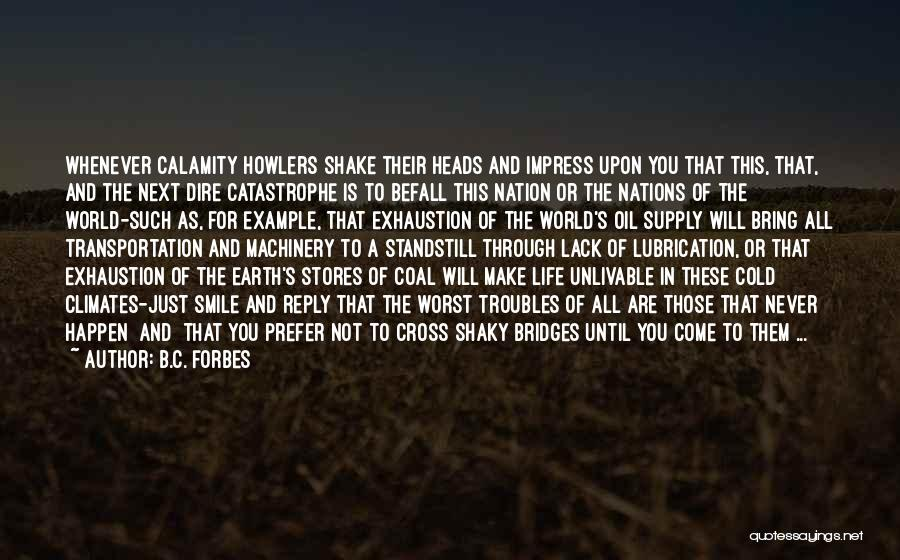 Climates Quotes By B.C. Forbes