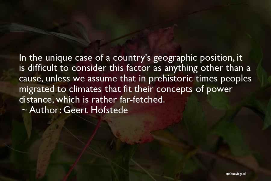 Climates Quotes By Geert Hofstede