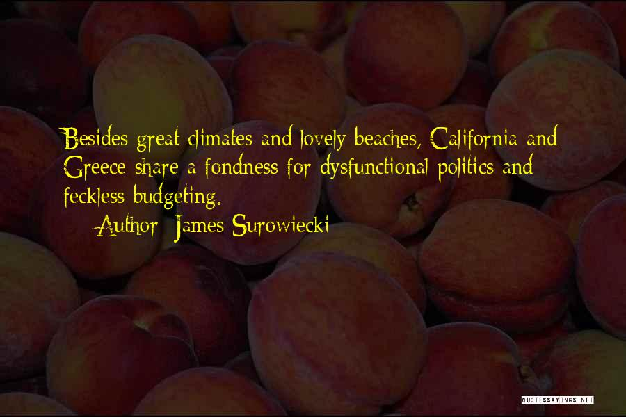 Climates Quotes By James Surowiecki