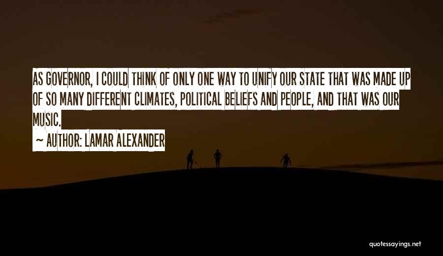 Climates Quotes By Lamar Alexander