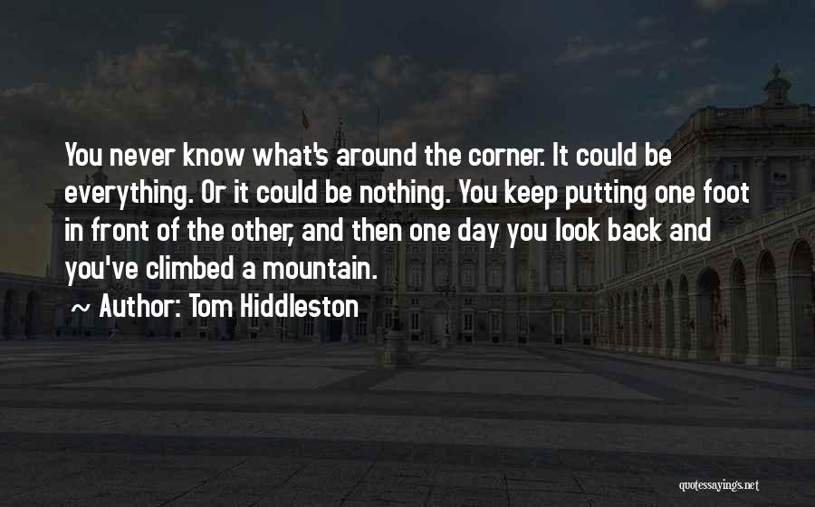 Climbed A Mountain Quotes By Tom Hiddleston