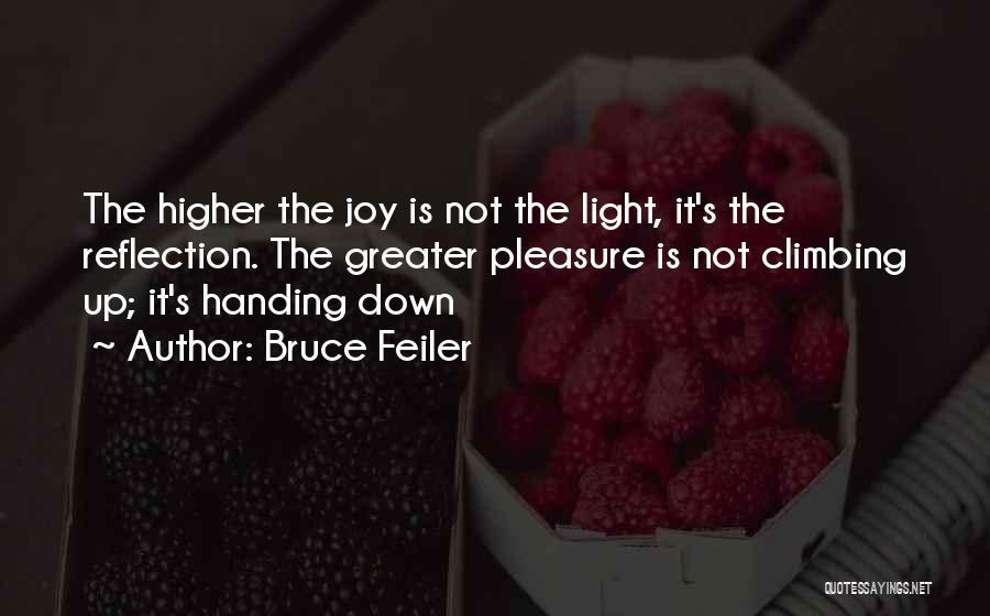 Climbing Higher Quotes By Bruce Feiler