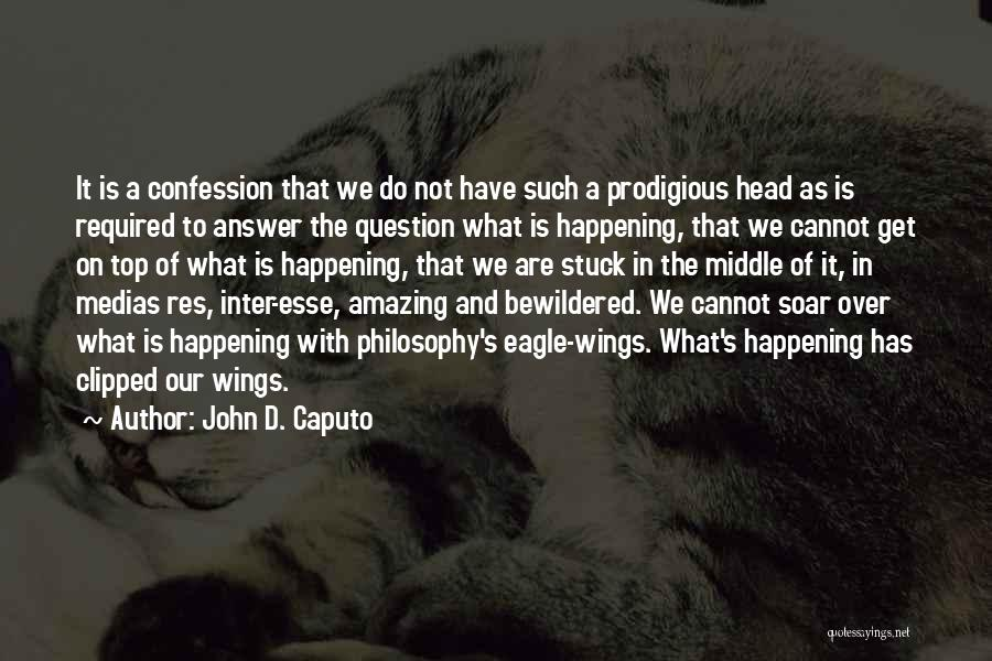 Clipped Wings Quotes By John D. Caputo