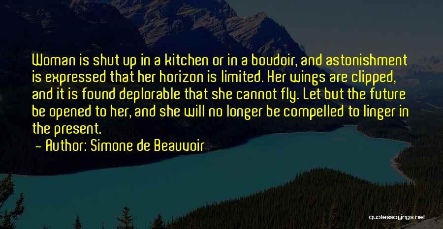 Clipped Wings Quotes By Simone De Beauvoir