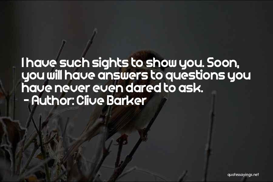 Clive Barker Quotes 2266591