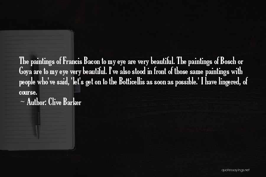 Clive Barker Quotes 673115