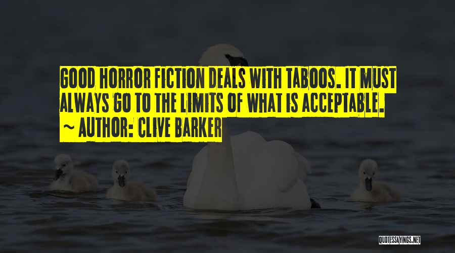 Clive Barker Quotes 819174
