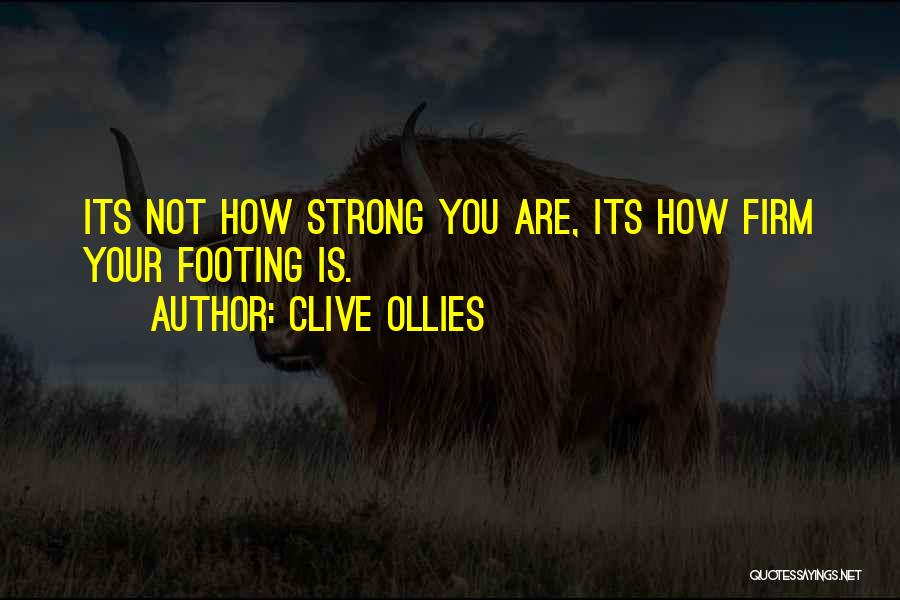 Clive Ollies Quotes 1864750