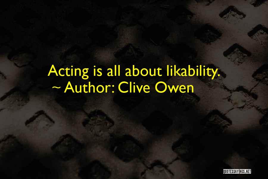 Clive Owen Quotes 1150365