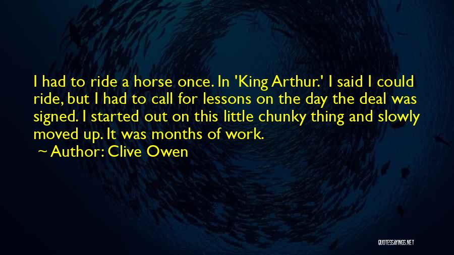Clive Owen Quotes 1153629