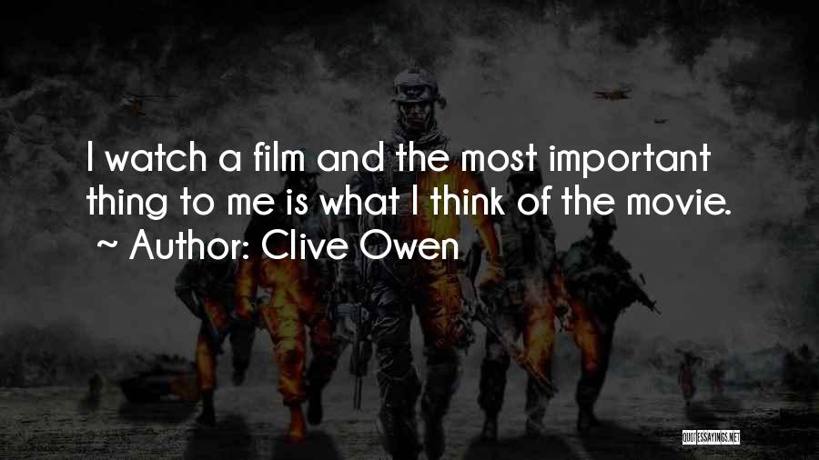 Clive Owen Quotes 1886514