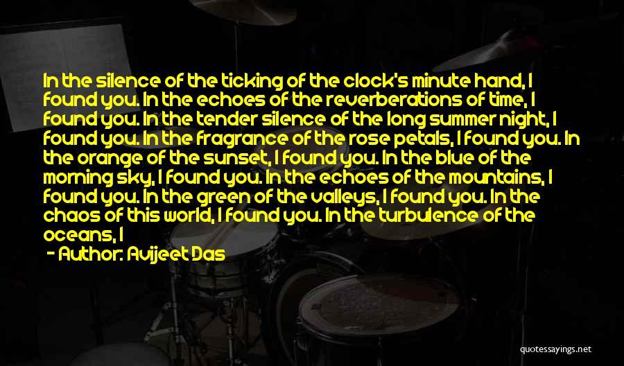 Clock Ticking Quotes By Avijeet Das