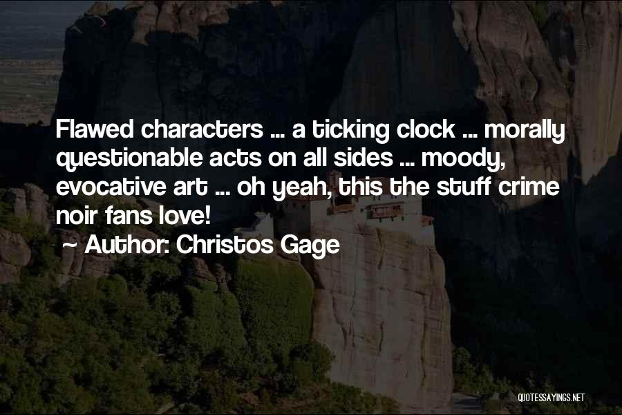 Clock Ticking Quotes By Christos Gage