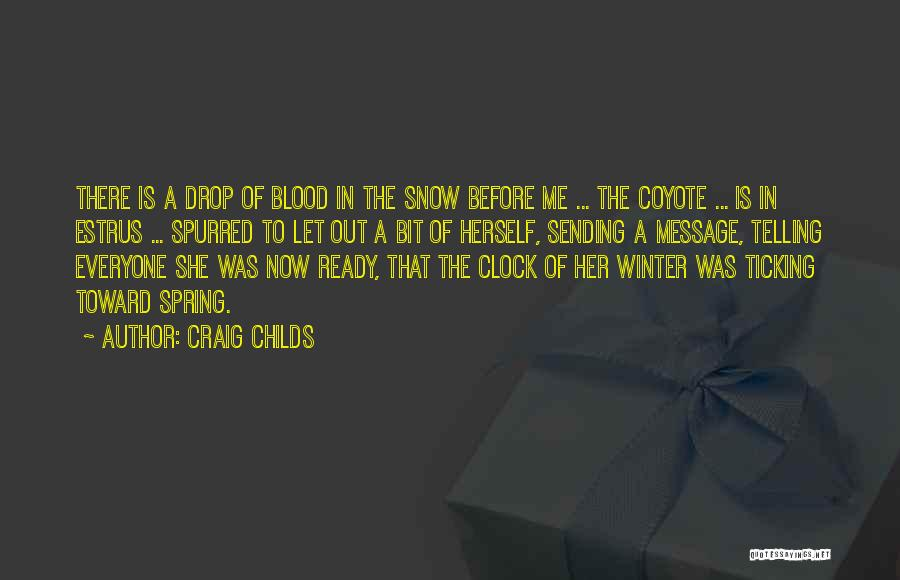 Clock Ticking Quotes By Craig Childs