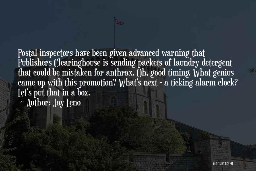 Clock Ticking Quotes By Jay Leno
