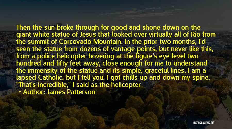 Close My Eye Quotes By James Patterson