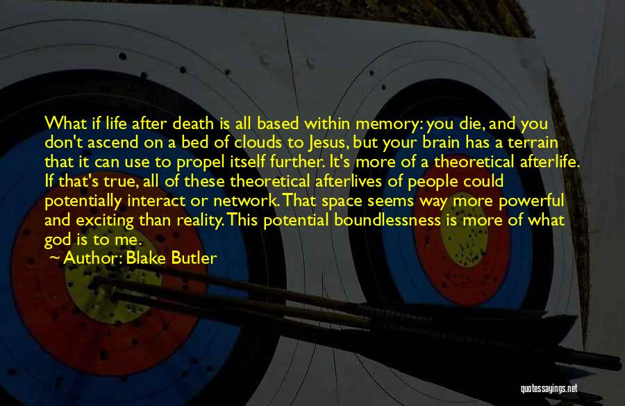 Clouds And Death Quotes By Blake Butler