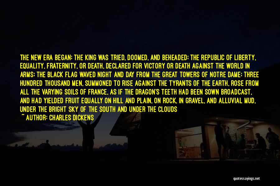 Clouds And Death Quotes By Charles Dickens