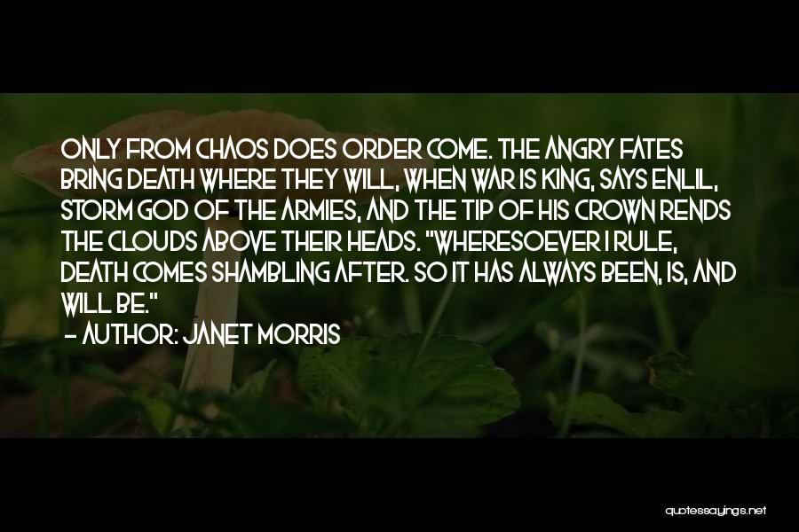 Clouds And Death Quotes By Janet Morris
