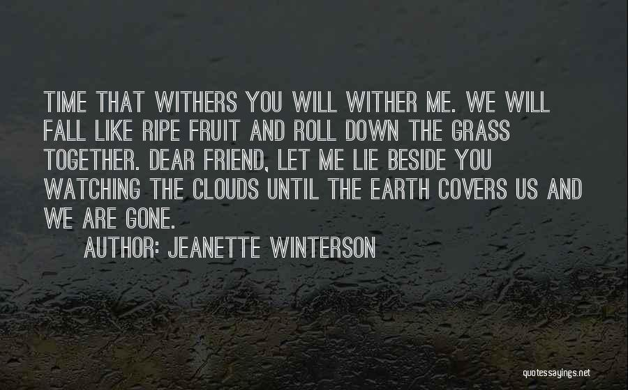 Clouds And Death Quotes By Jeanette Winterson
