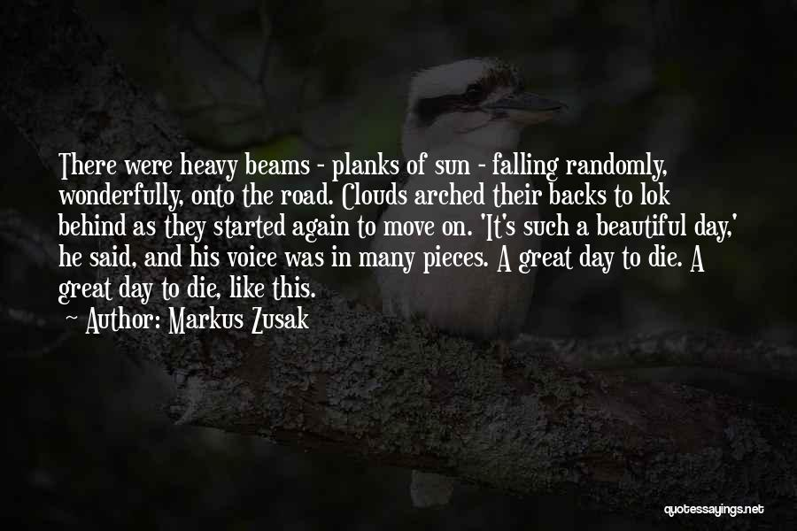 Clouds And Death Quotes By Markus Zusak