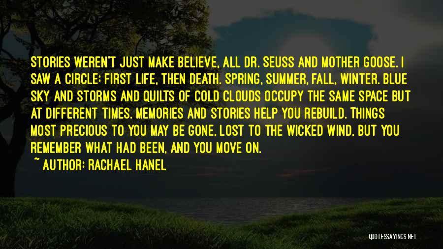 Clouds And Death Quotes By Rachael Hanel