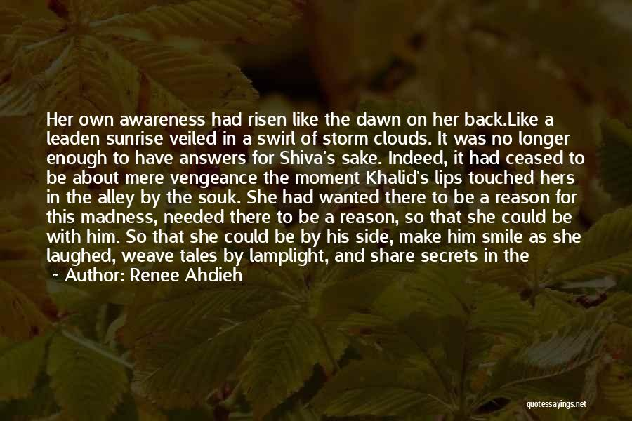 Clouds And Death Quotes By Renee Ahdieh