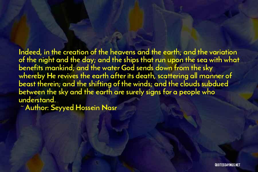 Clouds And Death Quotes By Seyyed Hossein Nasr