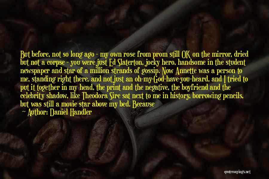 Co Captain Quotes By Daniel Handler