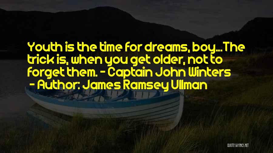 Co Captain Quotes By James Ramsey Ullman