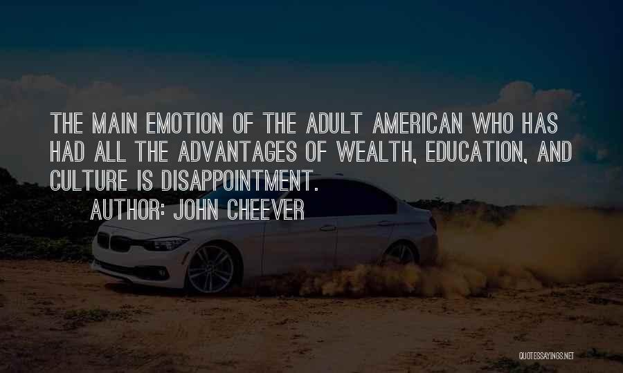 Co Education Advantages Quotes By John Cheever