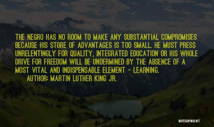 Co Education Advantages Quotes By Martin Luther King Jr.
