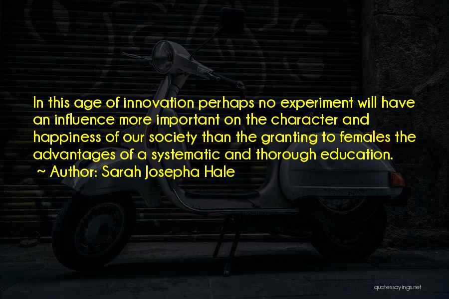 Co Education Advantages Quotes By Sarah Josepha Hale