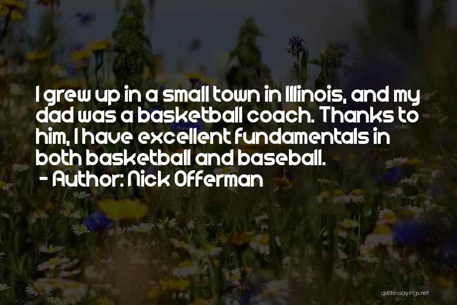Coach K Basketball Quotes By Nick Offerman