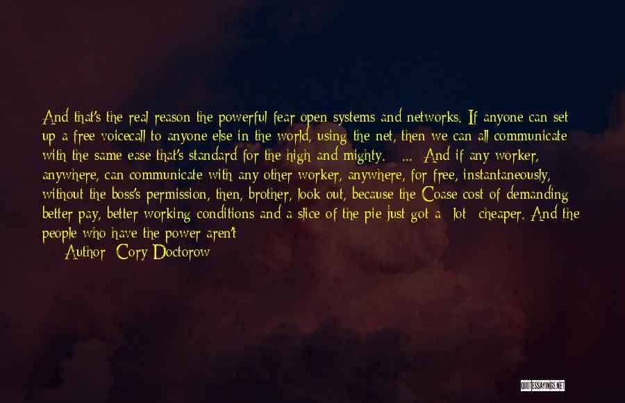 Coase Quotes By Cory Doctorow