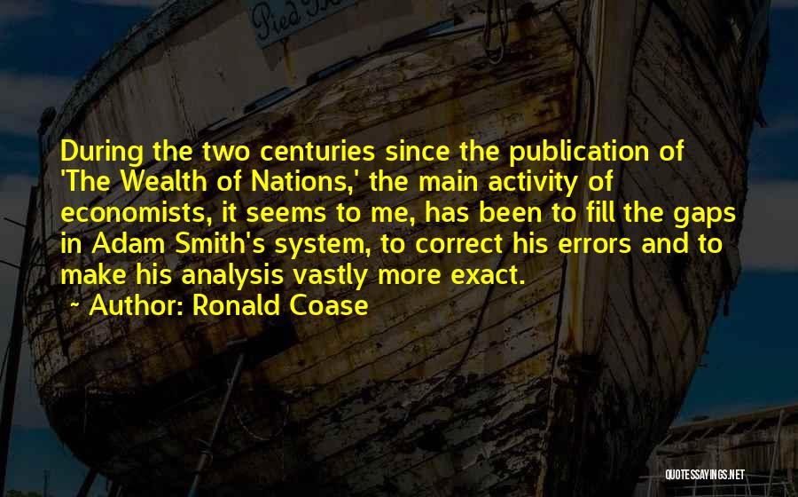 Coase Quotes By Ronald Coase