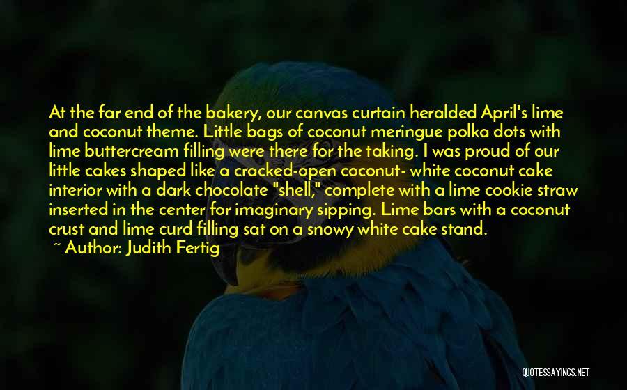 Coconut Shell Quotes By Judith Fertig