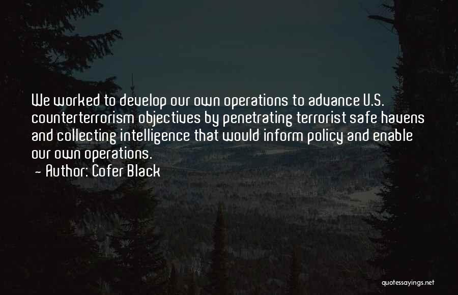 Cofer Black Quotes 568281