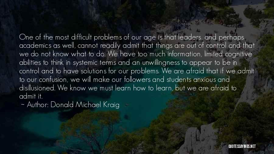Cognitive Learning Quotes By Donald Michael Kraig