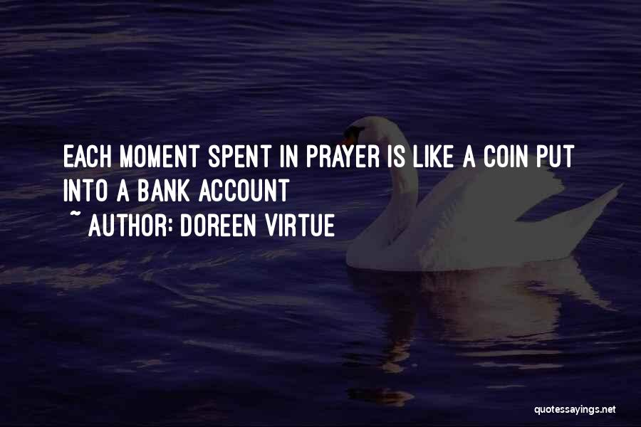 Coin Bank Quotes By Doreen Virtue