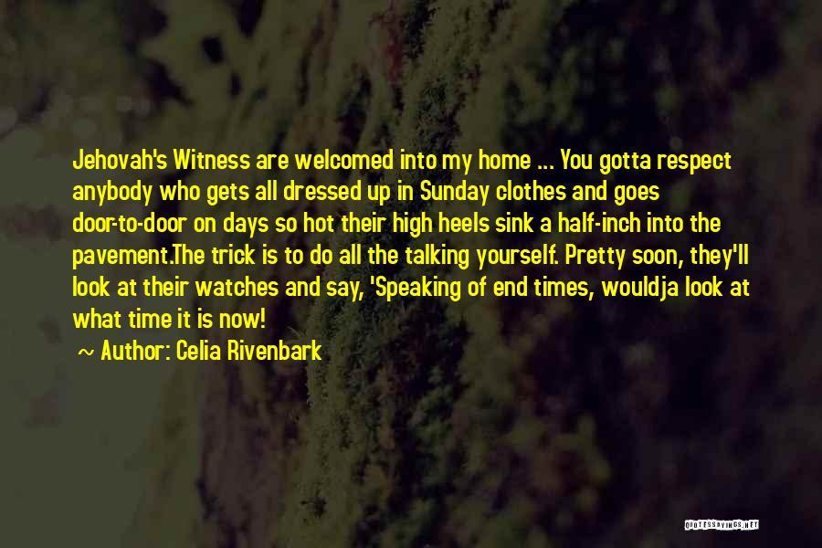 Col Sink Quotes By Celia Rivenbark