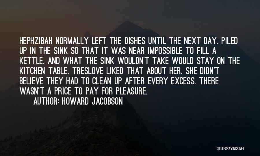 Col Sink Quotes By Howard Jacobson