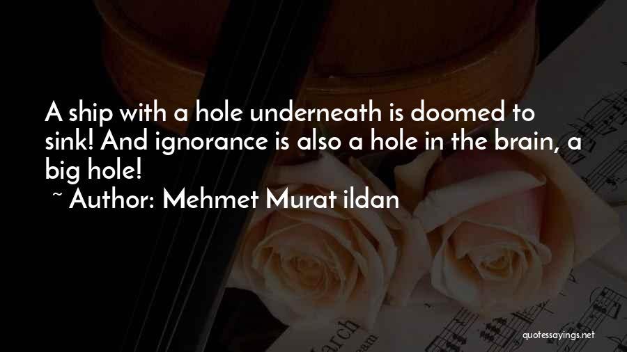 Col Sink Quotes By Mehmet Murat Ildan