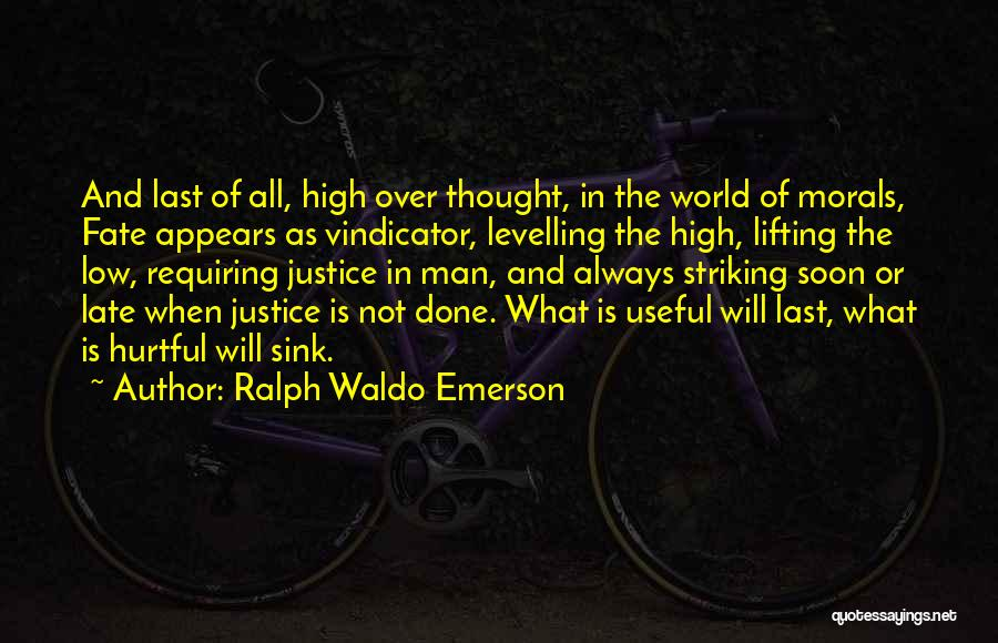 Col Sink Quotes By Ralph Waldo Emerson