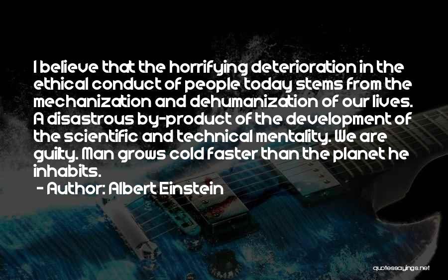 Cold Man Quotes By Albert Einstein